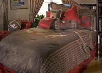 Moose Be Plaid Queen Comforter Set