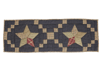Arlington Quilted Patchwork Star Standard Table Runner