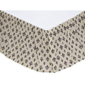 Elysee fleur-de-lis Bed Skirt