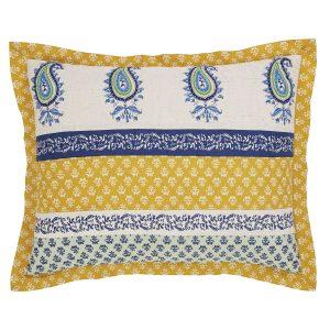 Calypso Cyan Standard Pillow Sham