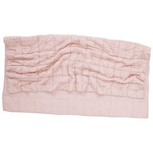 Camille Blush Pink Quilt Messy