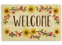 Welcome Sunflowers Doormat