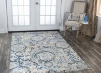 Briston Blue World Swirl Rug
