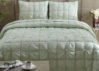 Camille Mint Luxury King Quilt Se