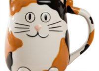 Calico Cat Ceramic Mug