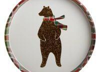 Beary Happy Woodland Tin Tray