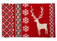 Alpine Sweater Stag Plush Rug