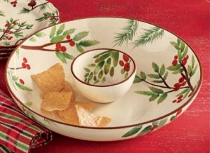 Greenery Chip & Dip Set