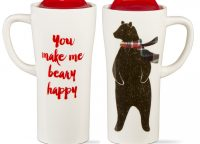 Beary Happy Travel Mug