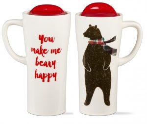 Beary Happy Travel Mug