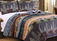 Black Bear Lodge King Quilt Set
