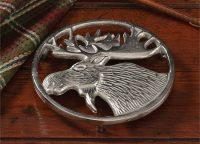 Metal Moose Trivet