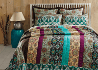 Capri Queen Quilt Set