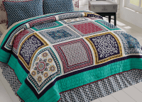 Mariposa King Quilt Set