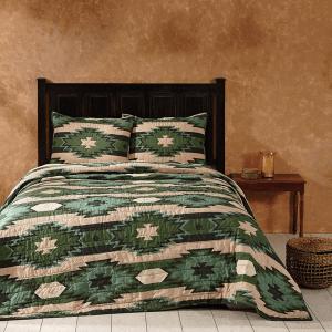 Santa Fe Pine King Quilt Set