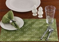 Wythe Garden Vintage Replica Placemat