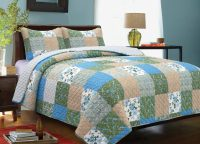 Country Garden King Quilt Set