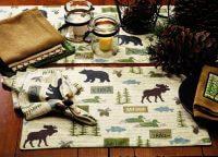 Wilderness Deluxe Table Runner