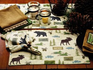 Wilderness Deluxe Table Runner