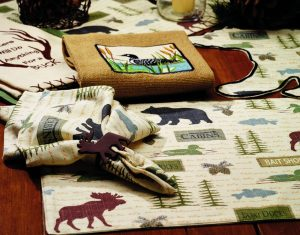 Wilderness Tabletop Linen Collection