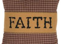 Heritage Farms Faith Throw Pillow