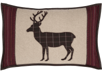 Wyatt Deer Applique Pillow
