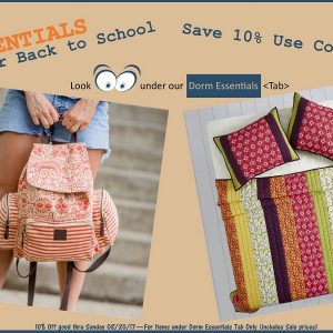 Dorm Essentials Sale