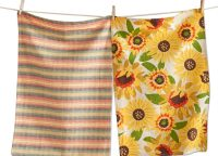 Festive Fall Sunflower Dishtowel Set