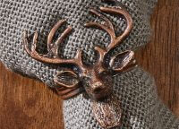 Bronze Stag Napkin Ring