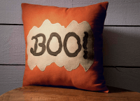 Boo Throw Pillow