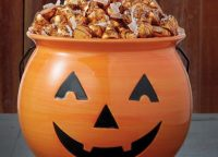 Jack O Lantern Treat Bowl