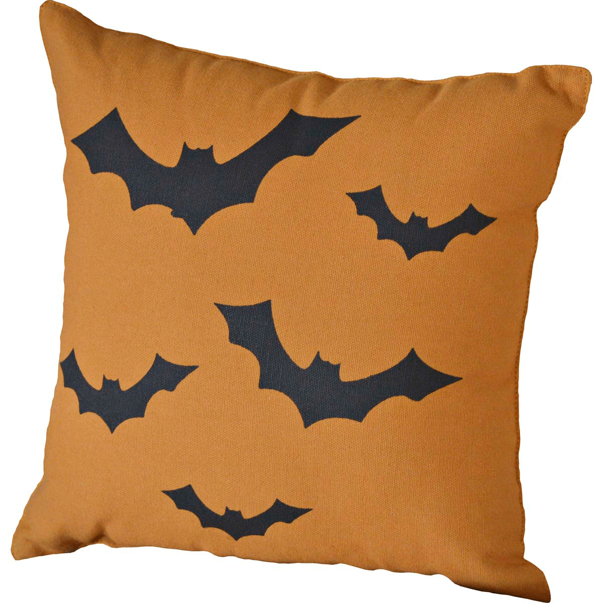 flying bats halloween pillow - teton timberline trading - halloween