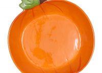 Pumpkin Shaped Pie Plate