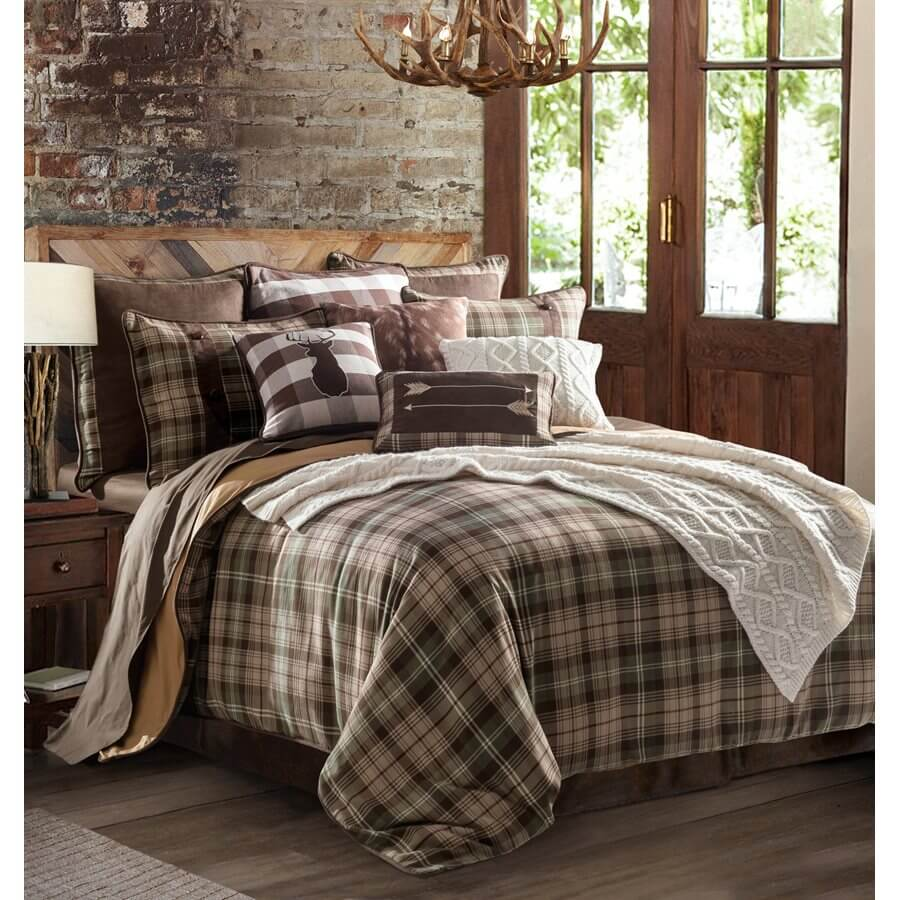 Huntsman Twin Comforter Set Teton Timberline Trading