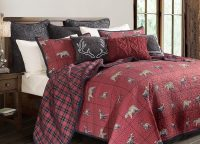 Woodland Plaid Queen Quilt Set