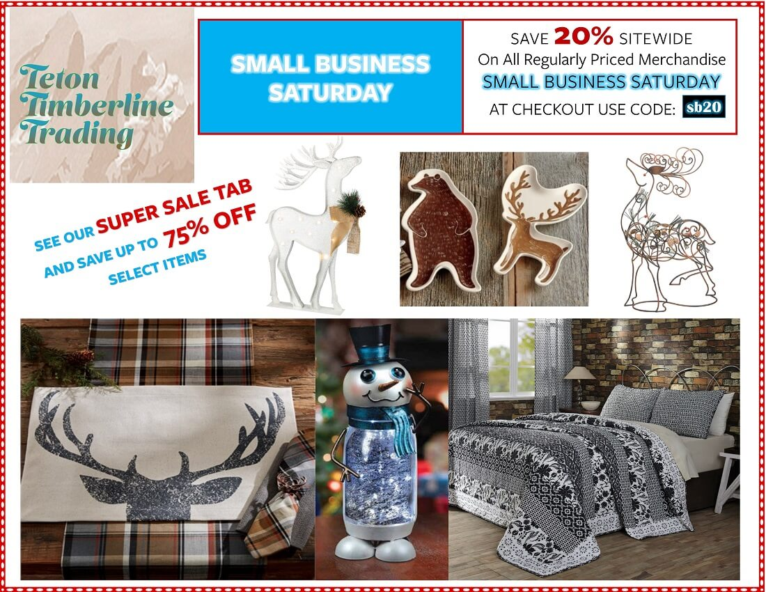 Small Business Saturday Savings