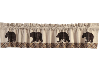 Wyatt Bear Luxury Valance