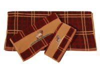 Elk Bugle Embroidered Towel Set