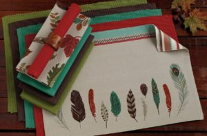 Full Feathers Placemat