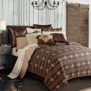 Star Ranch King Quilt Set
