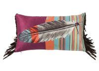 Feather Me This Serape Pillow