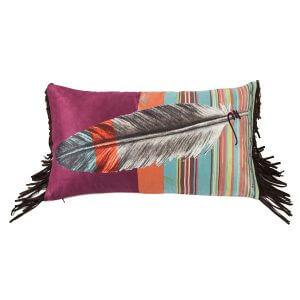 Feather Me This Serape Pillow