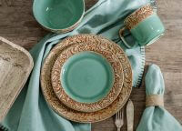 Wyatt Scroll Dinnerware Set