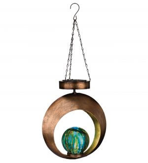 Solar Round Contempo Hanging Lantern