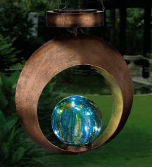 Solar Round Contempo Lantern Closeup