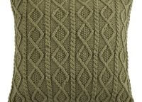 Cable Knit Sage Toss Pillow