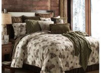 Forest Pine King Comforter Set