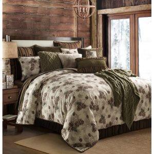 Forest Pine King Comforter Set
