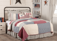 Hatteras Patch Twin Quilt Set