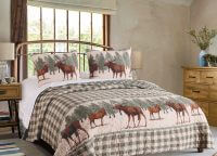 Moose Creek Queen Quilt Set